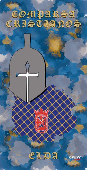 TOALLA CRISTIANOS ELDA 1382