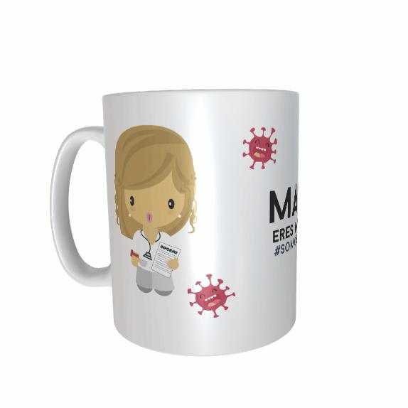 Taza Doctora Mujer