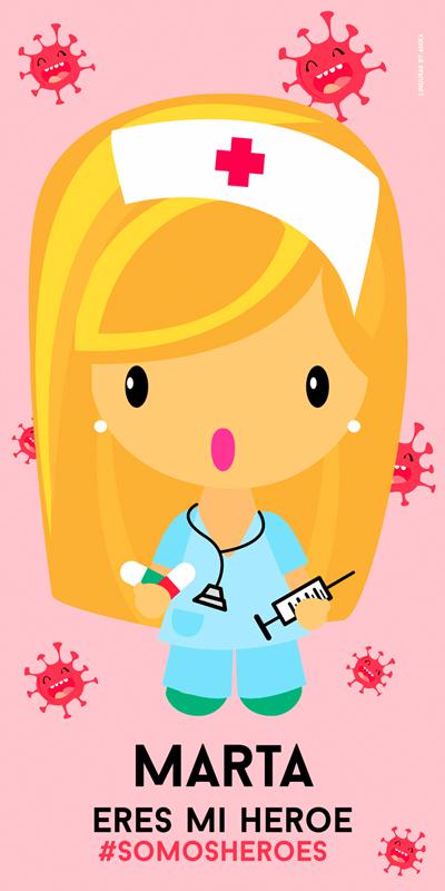 Toalla Enfermera