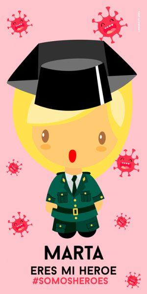 Toalla Guardia Civil Mujer