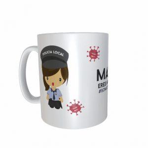 Taza Policía Local Mujer