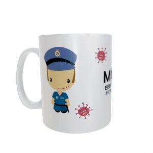 Taza Policía Nacional Hombre