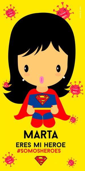 Toalla Super Nena