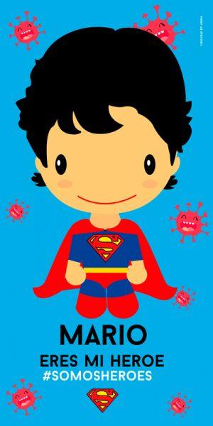 Toalla Super Nene