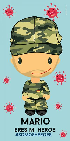 Toalla Ejército Hombre