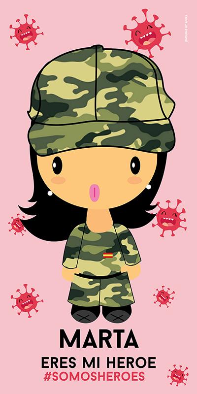 Toalla Ejército Mujer