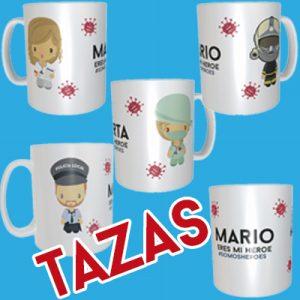 Taza Heroes Coronavirus