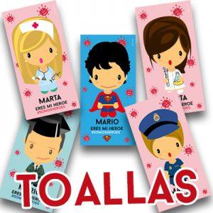 Toalla Heroes Coronavirus