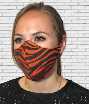 Mascarilla #colormask Zebra Red