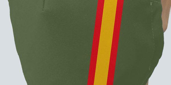 Mascarilla Bandera España Kaki