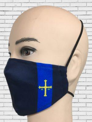 Mascarilla Bandera Asturias