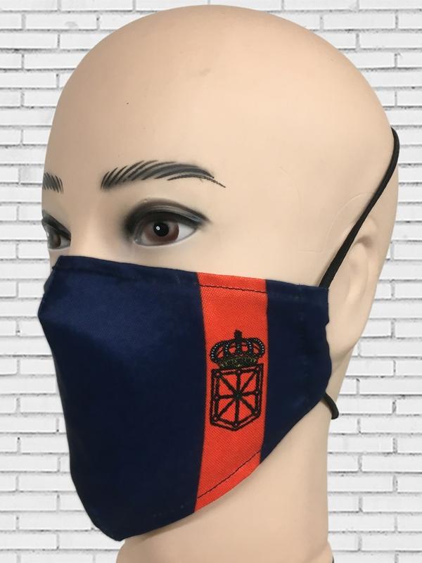 Mascarilla Bandera Navarra
