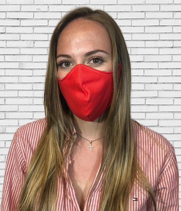 Mascarilla #colormask Red