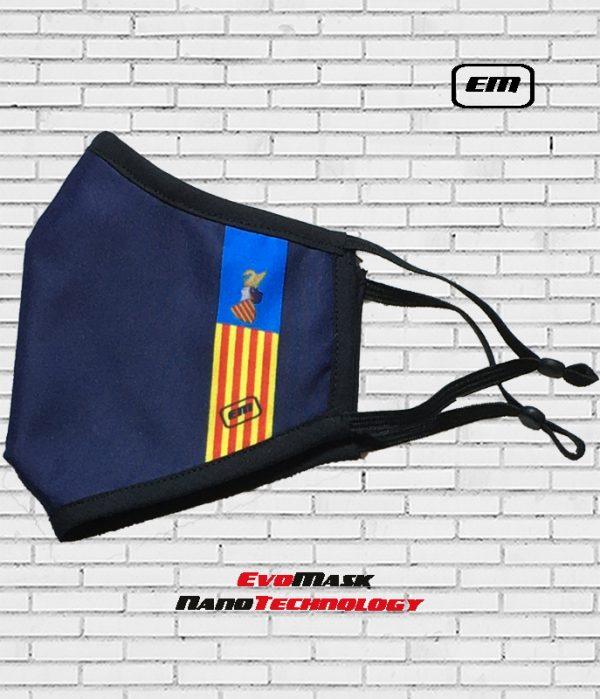Mascarilla Evomask Bandera Valencia