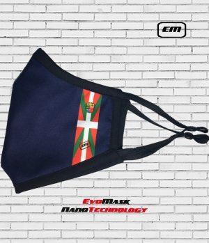 Mascarilla Evomask Bandera Euskadi